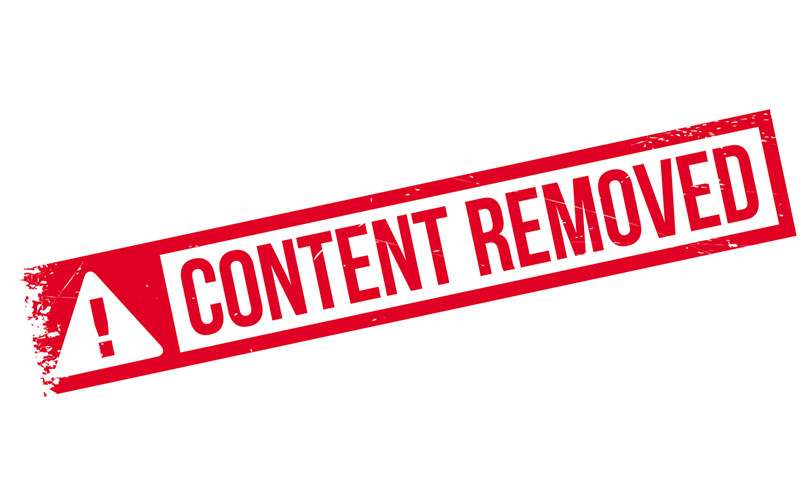 Internet Content Removal