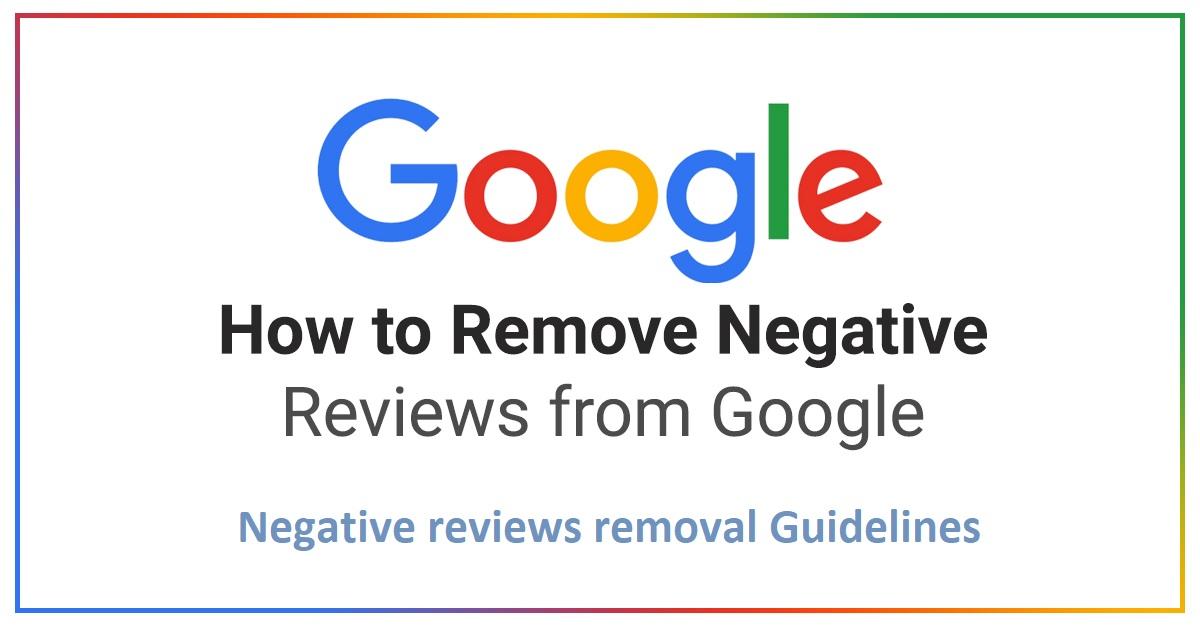 Remove Negative Google Review